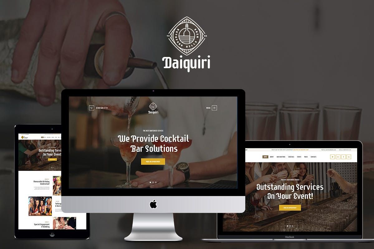 Daiquiri By Themerex On Envato Elements Daiquiri Creative Wordpress Themes Restaurant Wordpress Themes