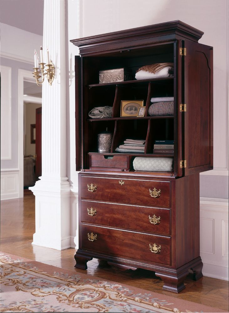 Home Gallery Furniture For Kincaid Armoires Solid Wood Armoire 43 W X 22 D X 78 H Kincaid Furniture Furniture Solid Wood Armoire