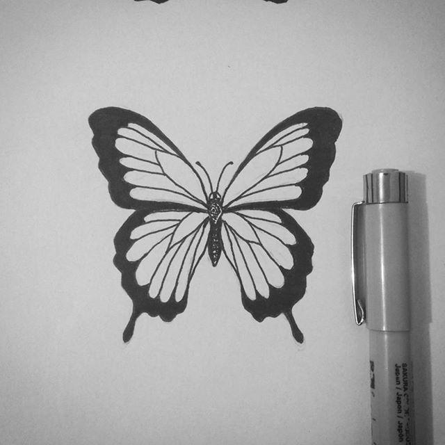 Photo of Einloggen –  #borboleta #borboletatattoo #butterflytattoo #butterfly #fineline  …