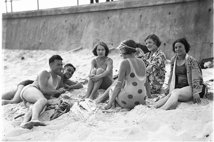 Australia 1930s Australia Manly Beach