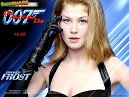 Rosamund Pike As Miranda Frost In Die Another Day James Bond Girls Bond Girls James Bond Movies