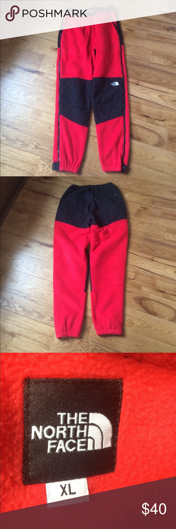 Men's North Face Fleece Pants XL Used but good condition. Great for skiing/camping. Size XL. The North Face Pants