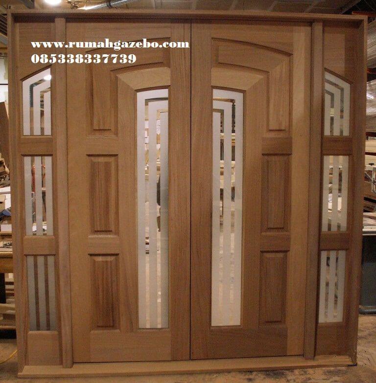Pintu Kupu Tarung Minimalis Berkaca Model Pintu Kupu Tarung Jual Pintu Kayu Jati Harga Murah Desain Pintu Rumah Minimalis Modern P Rumah Minimalis Rumah Pintu