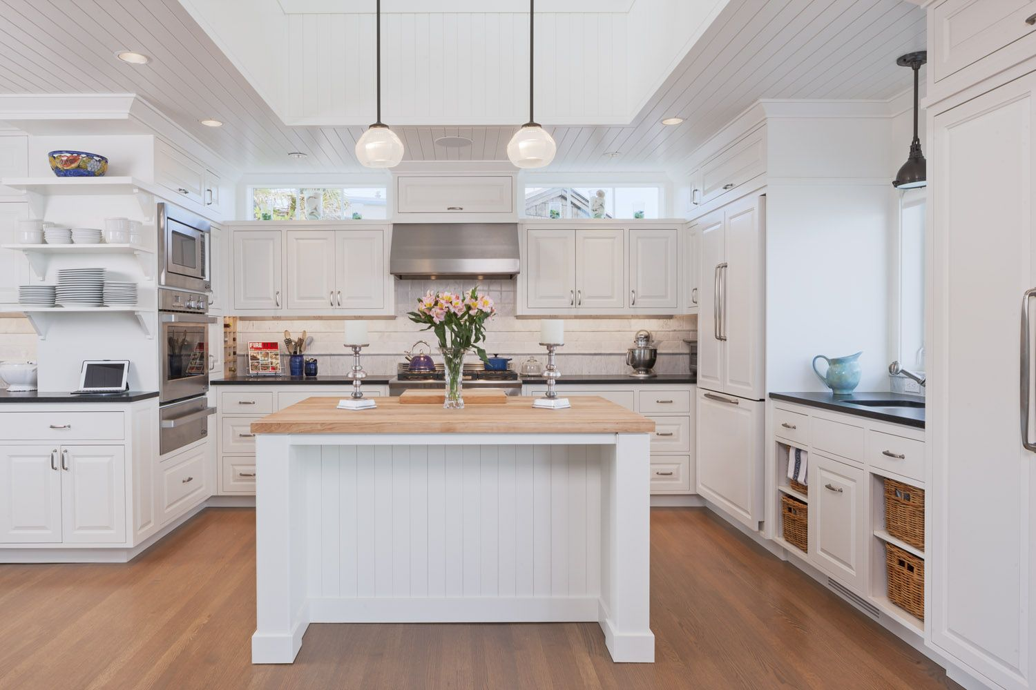 Kitchen With Transom Windows Cupola Above Above Kitchen Cabinets Kitchen Models Kitchen Interior