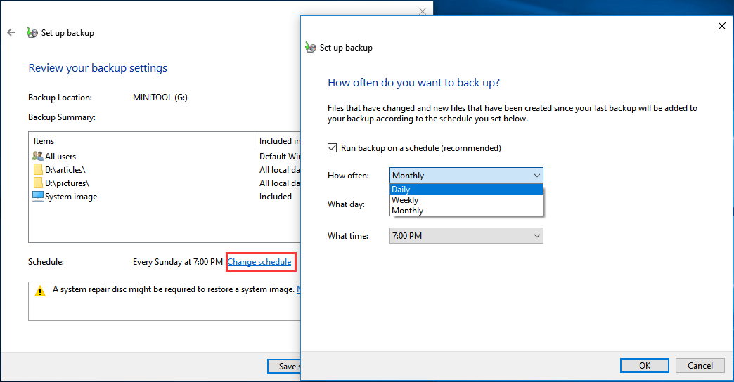 Best Alternative to Time Machine for Windows 10/8/7 to Keep