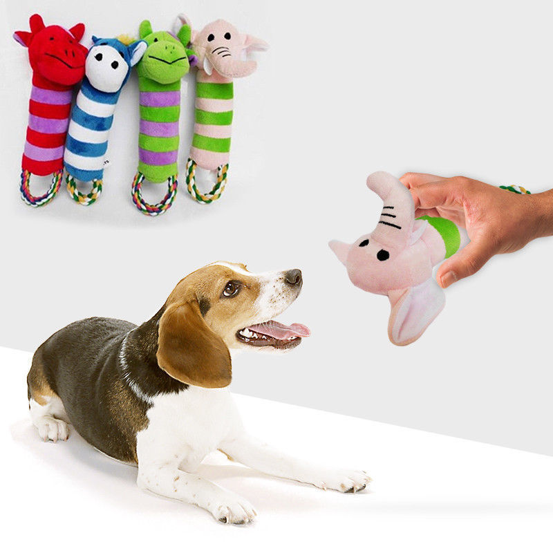 2 89 Aud Pet Puppy Chew Squeaker Squeaky Plush Sound Pig