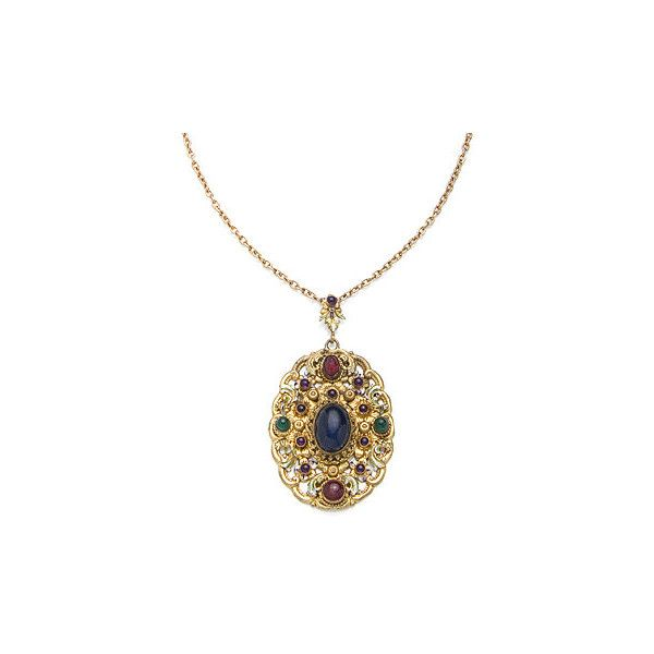 Vintage Necklace, 50.1 (565 BRL) ❤ liked on Polyvore featuring jewelry, necklaces, accessories, long necklaces, long pendant, vintage necklaces, vintage chain necklace and vintage long necklace