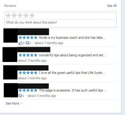 Facebook 5 Star Ratings - Is yours less than you expected?