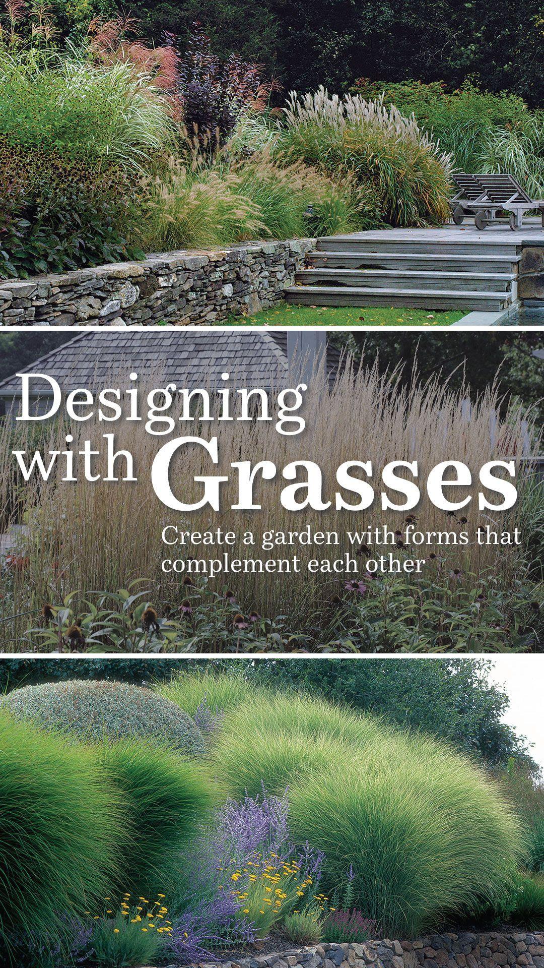 Designing With Grasses In 2020 Garden Inspiration Design Grass