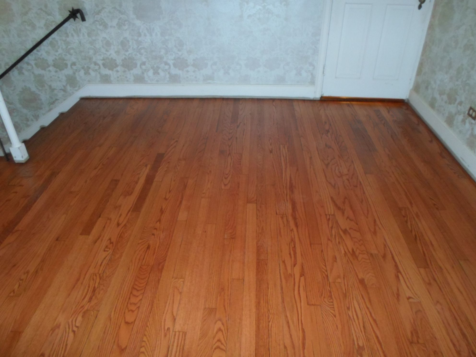 This Is Red Oak With A Gunstock Stain This Floor Was Done