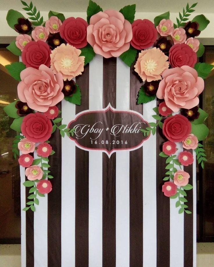Resultado de imagem para moldes de flores cabelo for Papel de decoracion