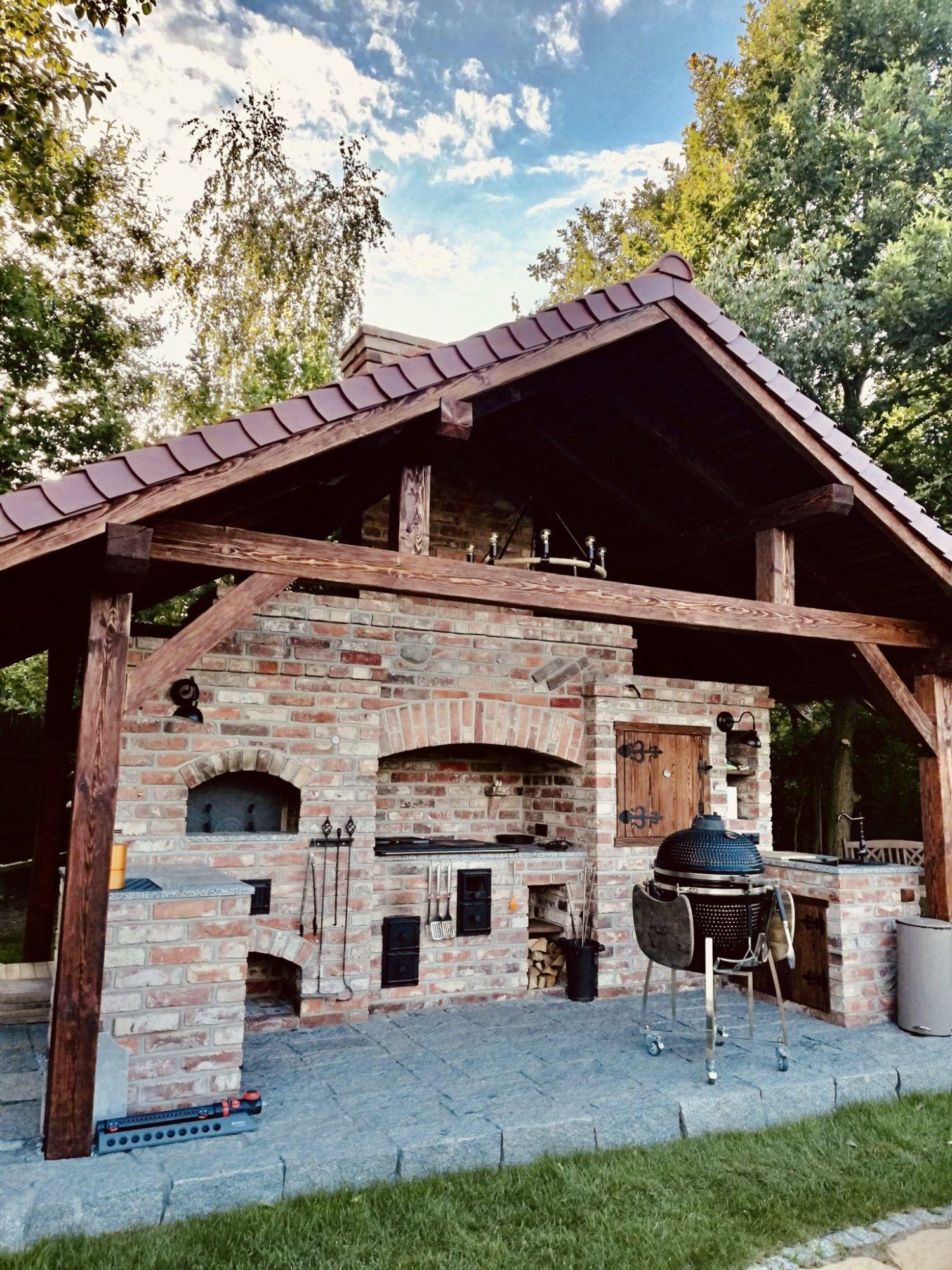 Kuchnie Ze Starej Cegly Kuchnie Letnie Ogrody Zimowe Grille Piece Kuchnia W Ogrodzie Outdoor Grill Station Outdoor Fireplace Plans Outdoor Kitchen Grill