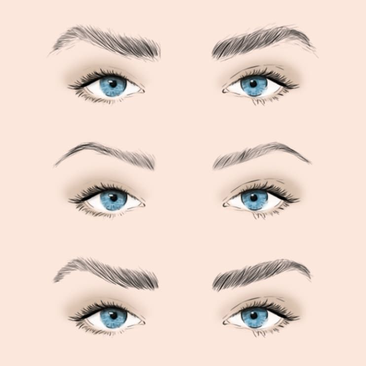 How to Apply Eyeshadow for Your Eye Shape   Eyebrow makeup ...