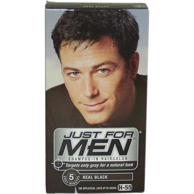 Just For Men Shampoo-In Hair Color Real Black #H-55 Shampoo | Products