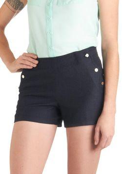 You Sailed It Shorts, #ModCloth