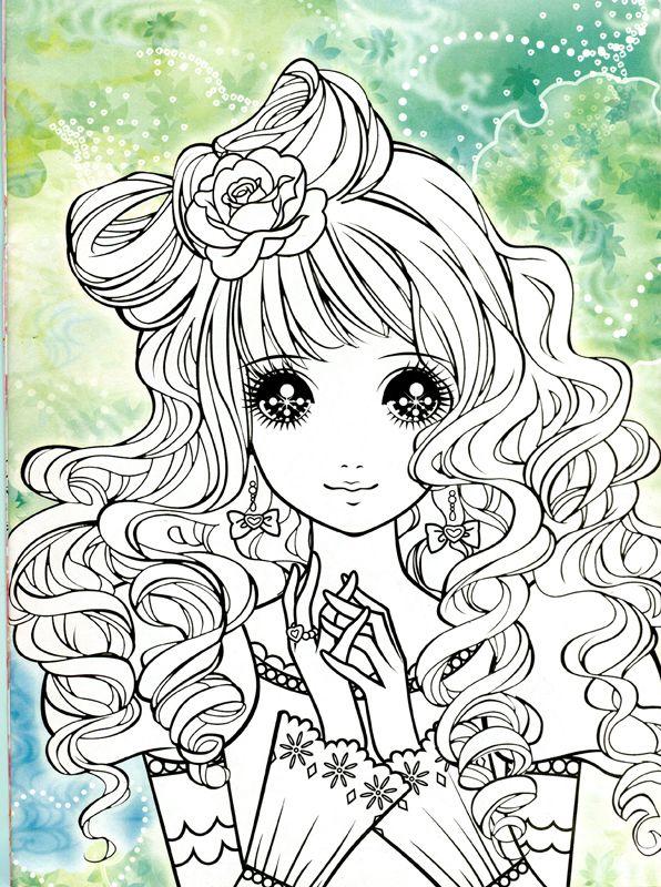 Korean Coloring Book pink2