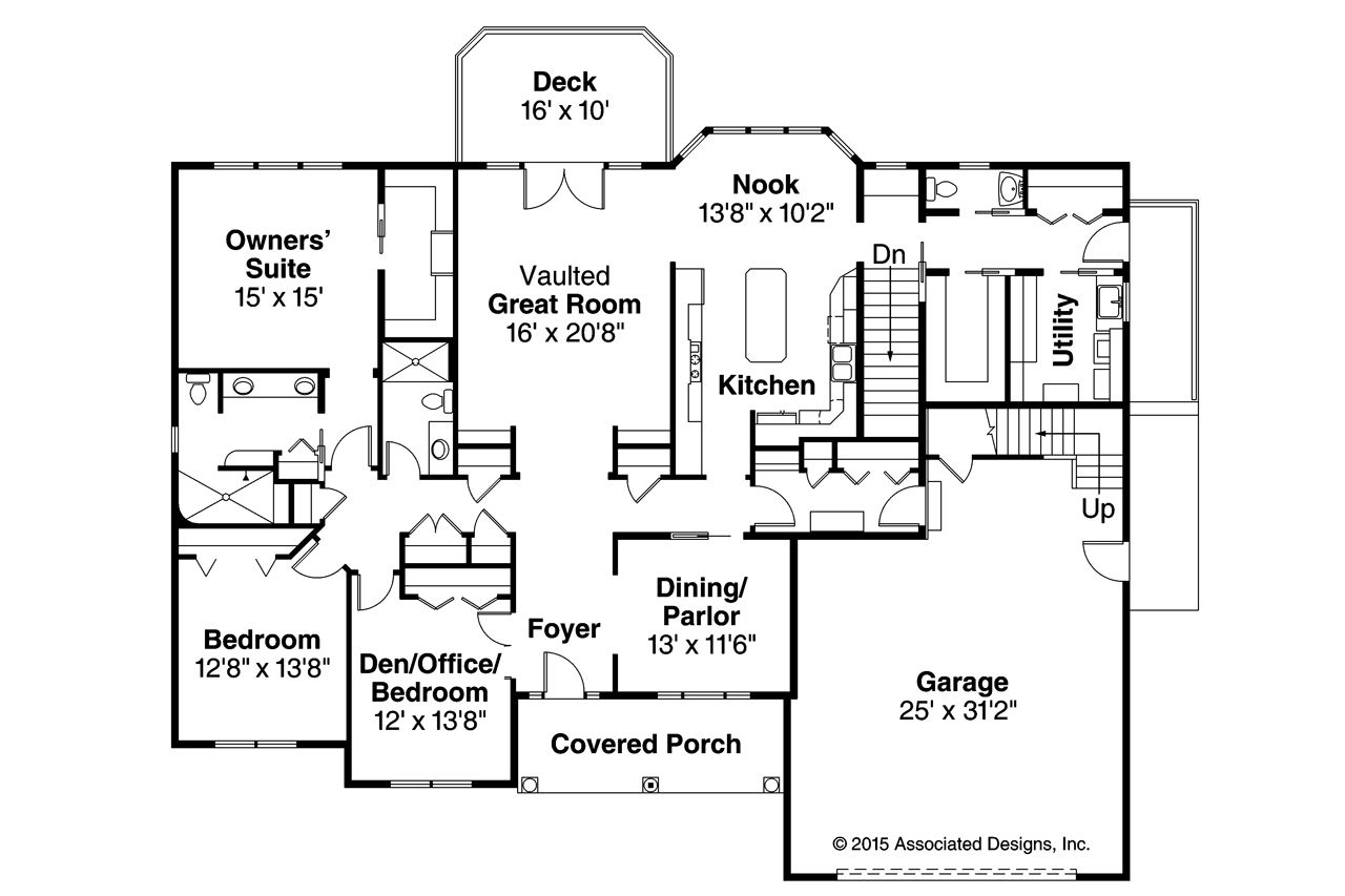 Hampshire Ranch Style Floor Plans Ranch Style House Plans Ranch Home Floor Plans
