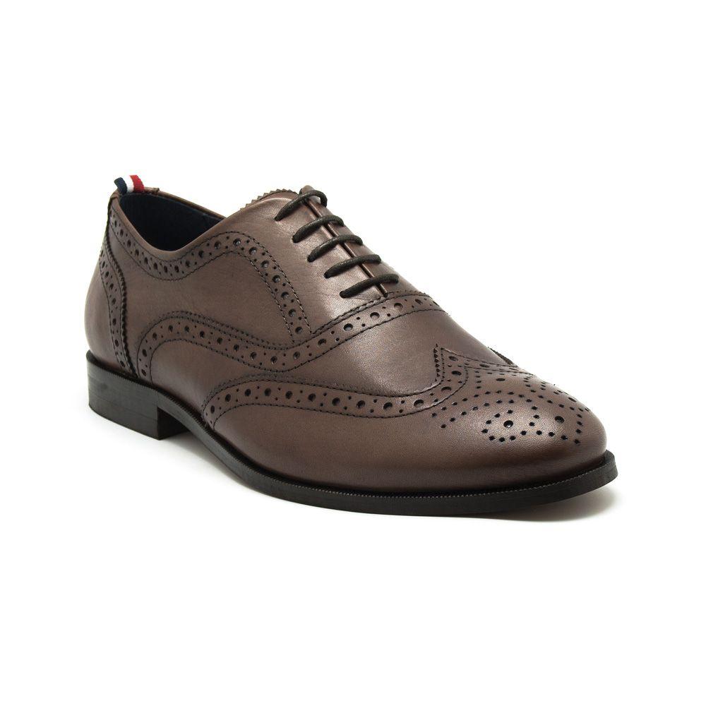 Zapato Oxford Marrón Traje - Calzado | El Ganso Online Store