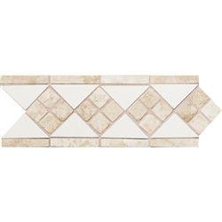 """Decorative Travertine Tile Borders Daltile  Fashion Accents  4"""" X 12"""" Fa50 Tile And Travertine"""
