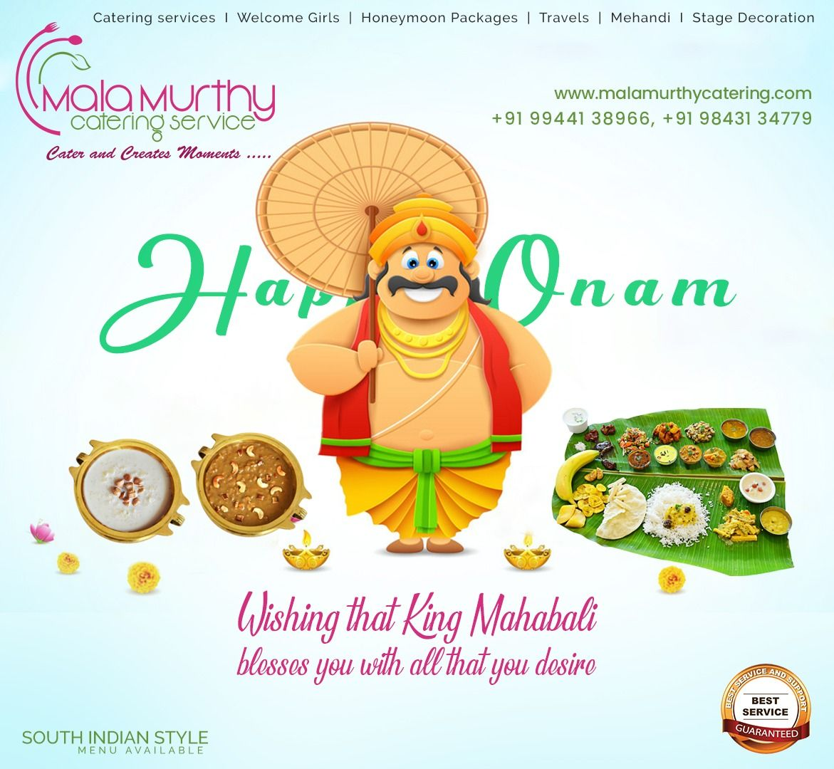 Malamurthy catering best kerala food catering service in