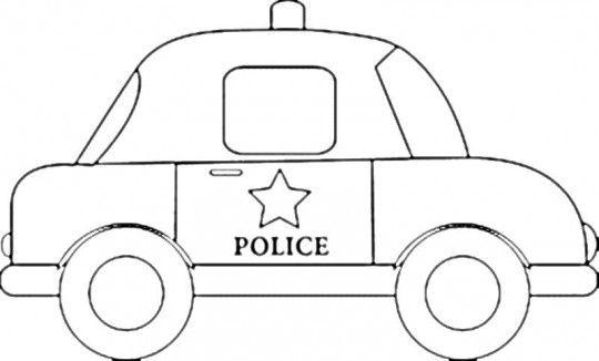 Carros-para-colorear-policia- ... | Medios de transporte y sus ...