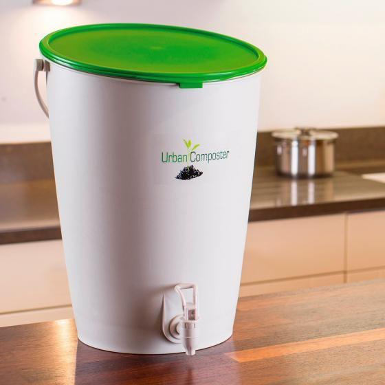Garantia Urban Komposter 15 Liter Inkl Kompost Beschleuniger Online Kaufen Bei Gartner Potschke Kompost Bokashi Und Gartnern Auf Kleinem Raum
