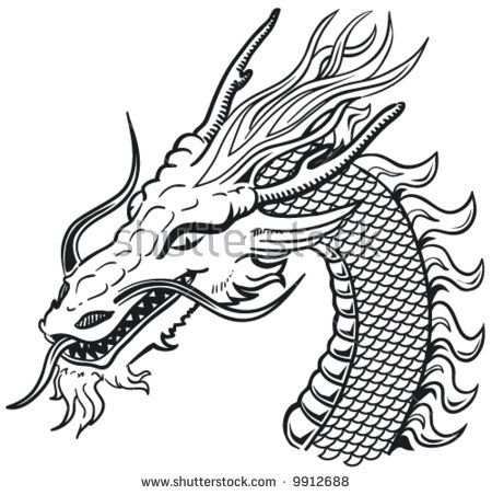 chinese dragon stencils - Yahoo Image Search Results | Inlay