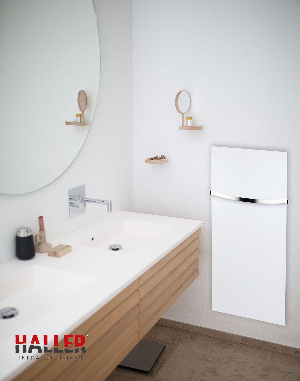 Infrarotheizung Handtuchhalter  Badezimmer design, Schicke bäder