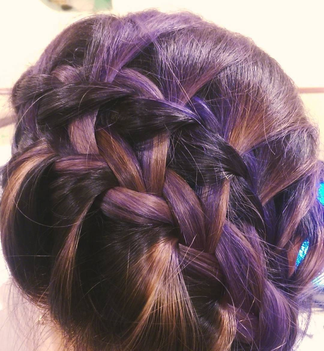 """""""Eventhough the color fade to different colors (purple -> grey, silver, blonde, black) and people call me old lady, I don't care. It does not make my hair…"""""""