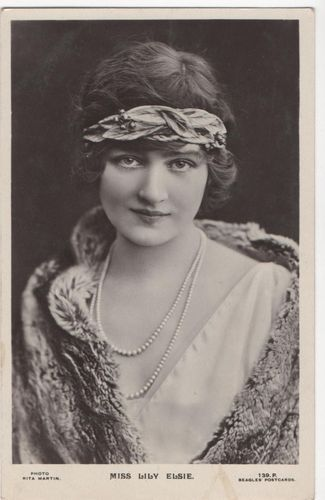 Postcard Actresses Lily Elsie | eBay
