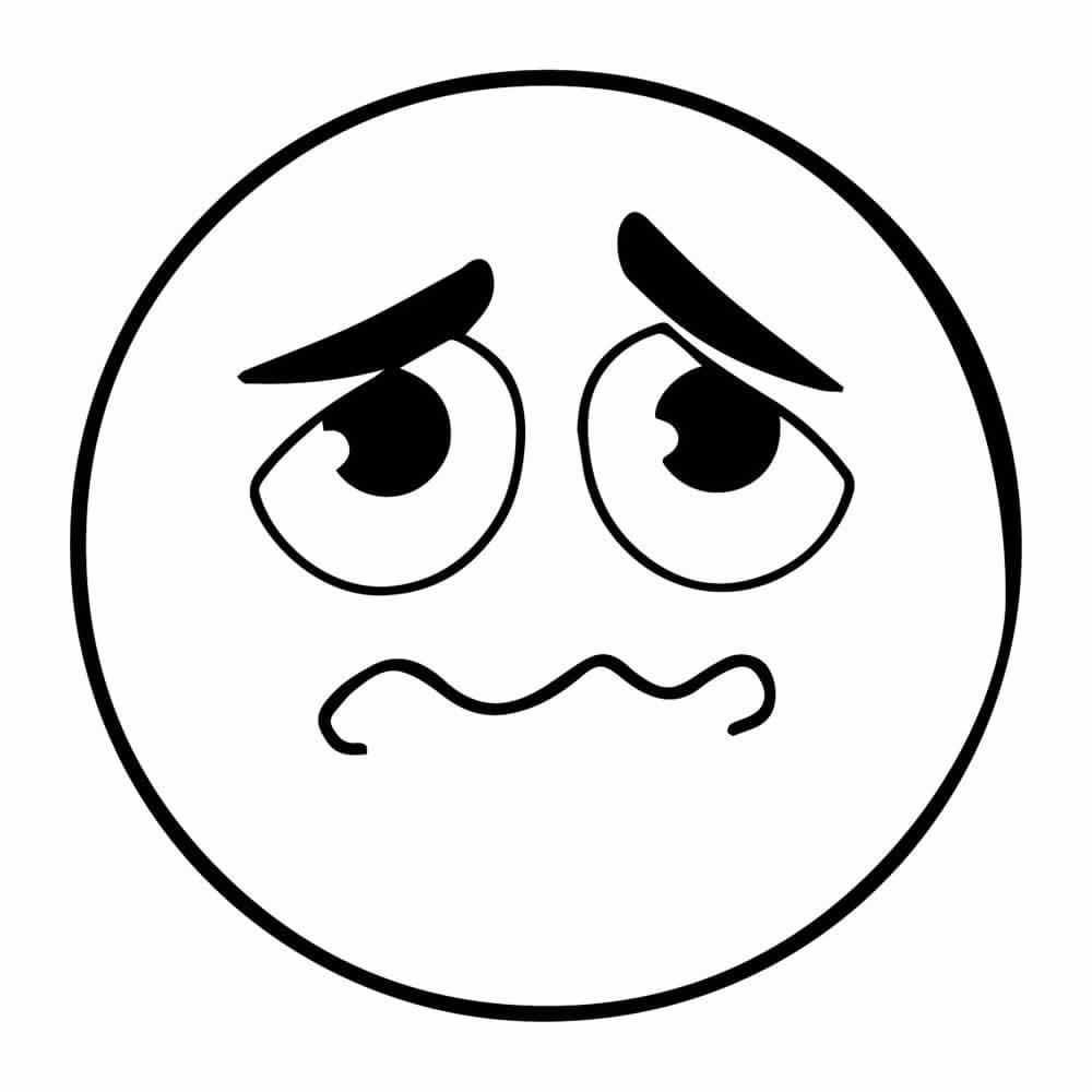 Emoticones Para Imprimir Y Colorear Emoticones Dibujos Dibujos Emojis