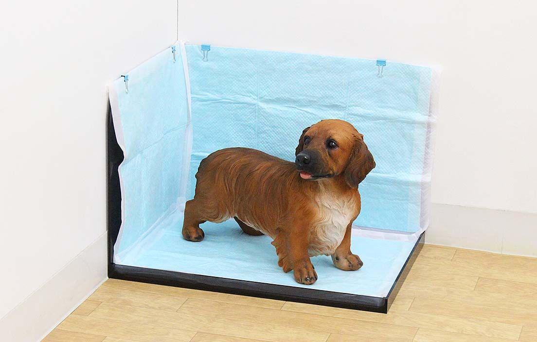 犬トイレ コーナータイプ アクリ屋ドットコム 犬のトイレ 犬 ペット用品