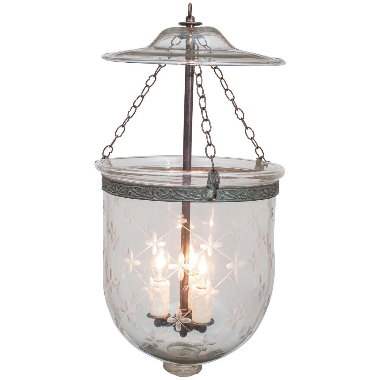 bell jar lighting fixtures. Star Grid Bell Jar Lantern, England, Circa 1810 Lighting Fixtures