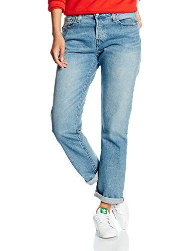 8ae49b39f3b Levi's Women's 501 CT Jeans, Blue (ISLAND AZURE), W32/L36 (Manufacturer  size: 32). UK jeans. Women jeans. It's an Amazon affiliate link.