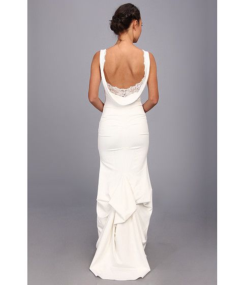 Nicole Miller Nina Bridal Gown Ivory - Zappos.com Free Shipping BOTH ...