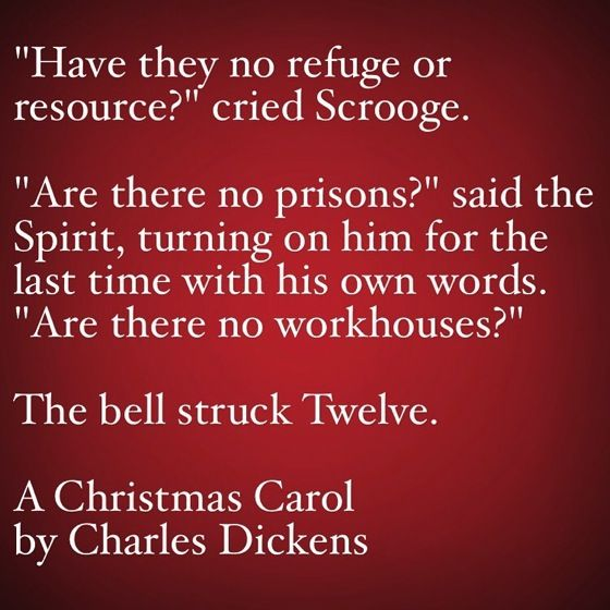 my favorite quotes from a christmas carol 34 are there no prisons