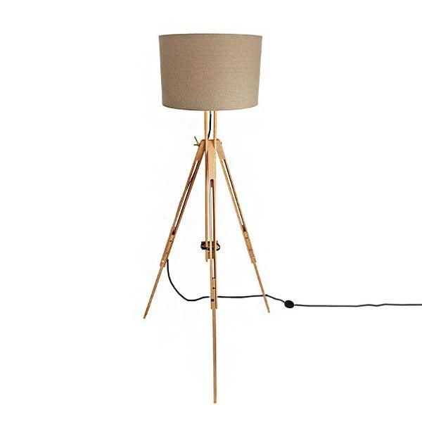 Gamma Standing Lamp Houten Lamp Vloerlamp Lampen