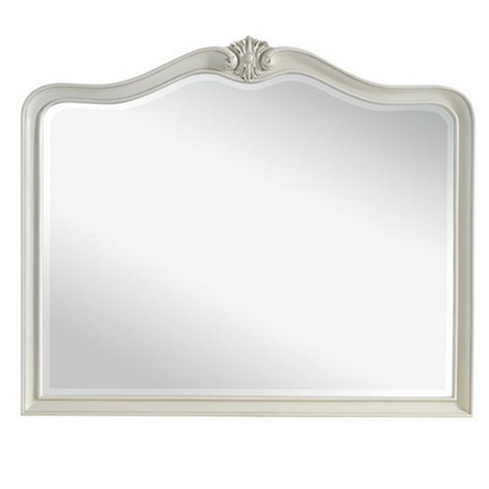 Isabel Shabby Chic Off White Wall Mirror Available From Www Serendipityhomeinteriors Com Ivory Paint White Wall Mirrors Mirror Painting