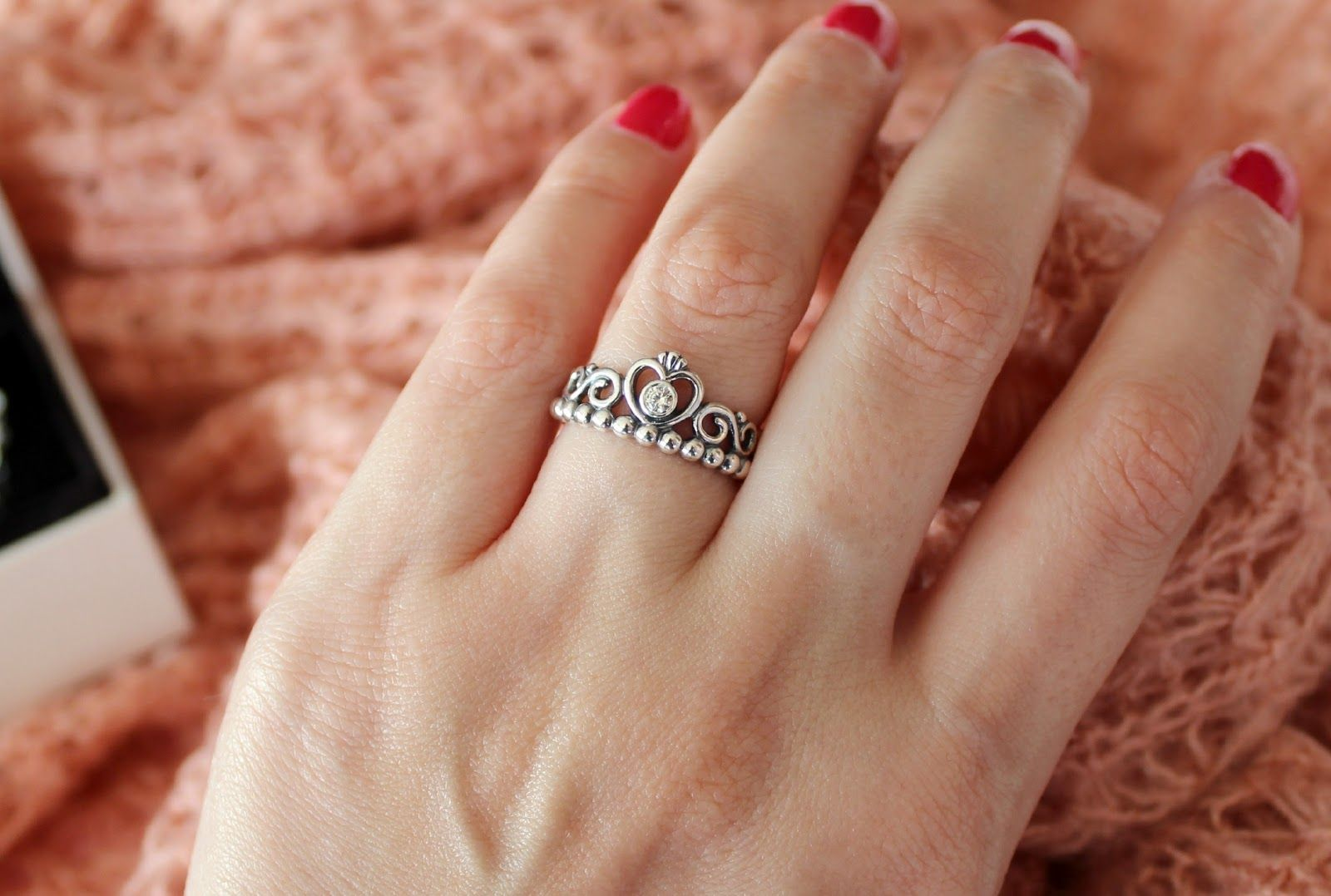 9bf21dbfb69866 my princess ring from pandora. my boyfriend better find out about this. lol