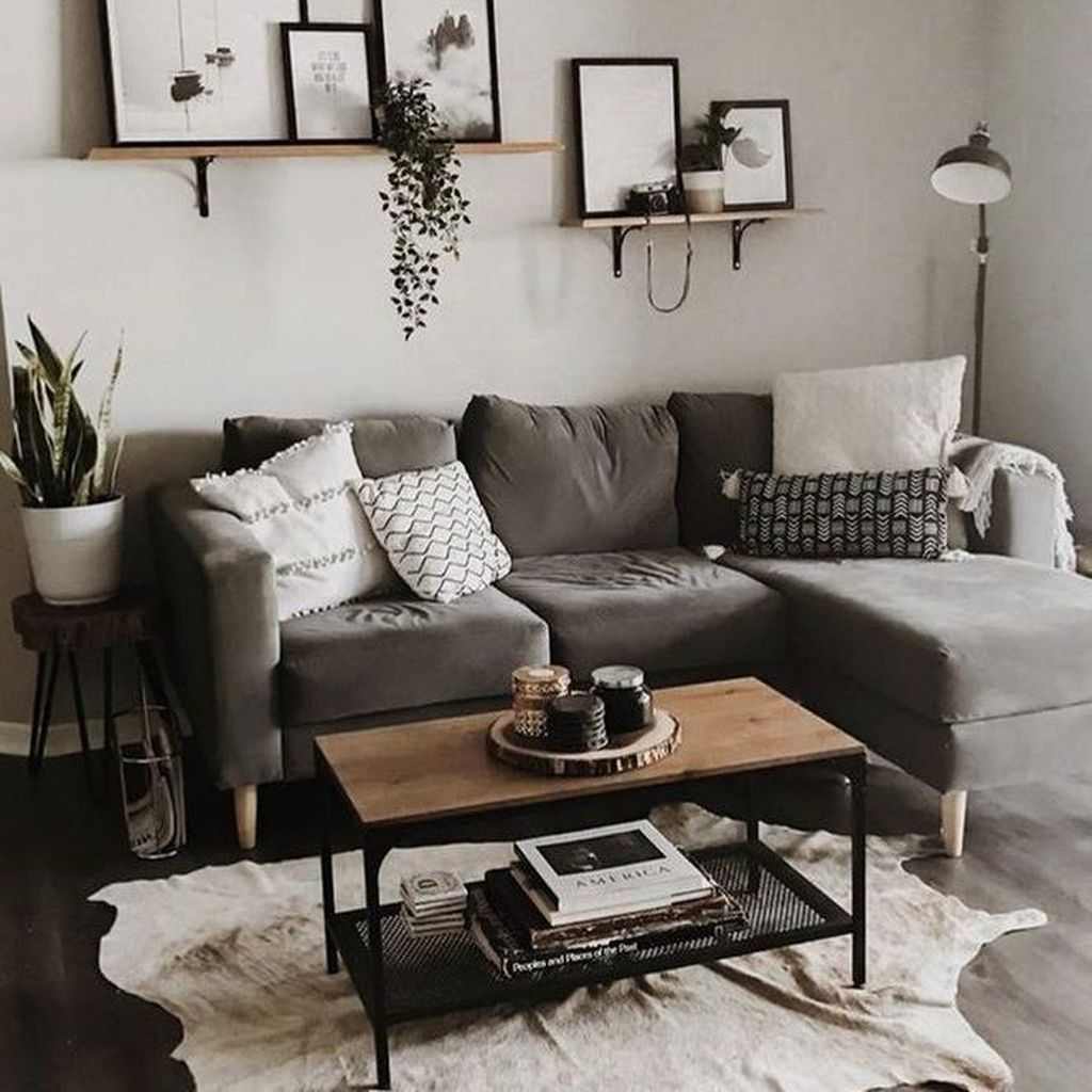 30 The Best Apartment Living Room Decor Ideas On A Budget Pimphomee Wall Decor Living Room Apartment Living Room Decor On A Budget Living Room Decor Apartment