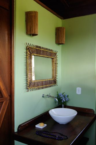 Inspiração para banheiros e lavabos rústicos! - lavabos rusticos
