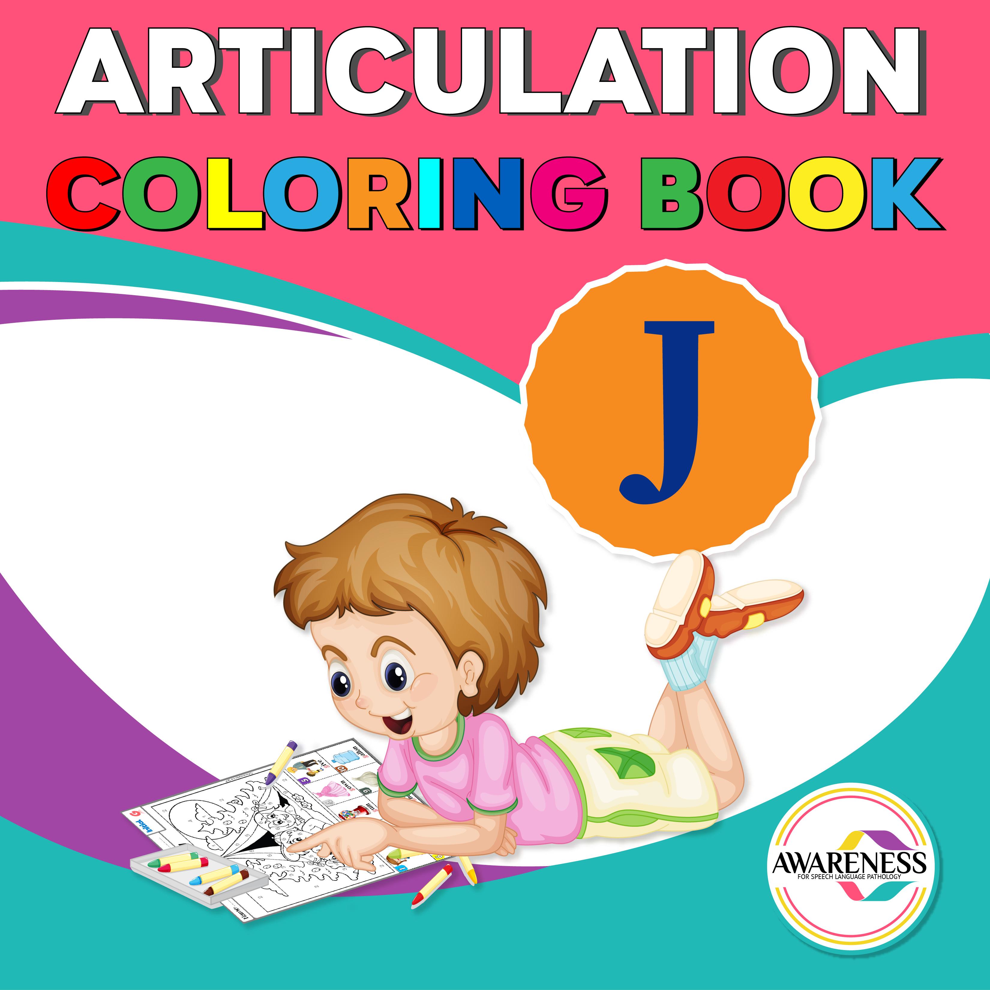 J Articulation Worksheets