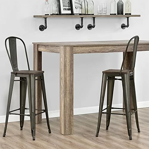 Surprising Becnel 26 Bar Stool Kitchens In 2019 Metal Bar Stools Unemploymentrelief Wooden Chair Designs For Living Room Unemploymentrelieforg