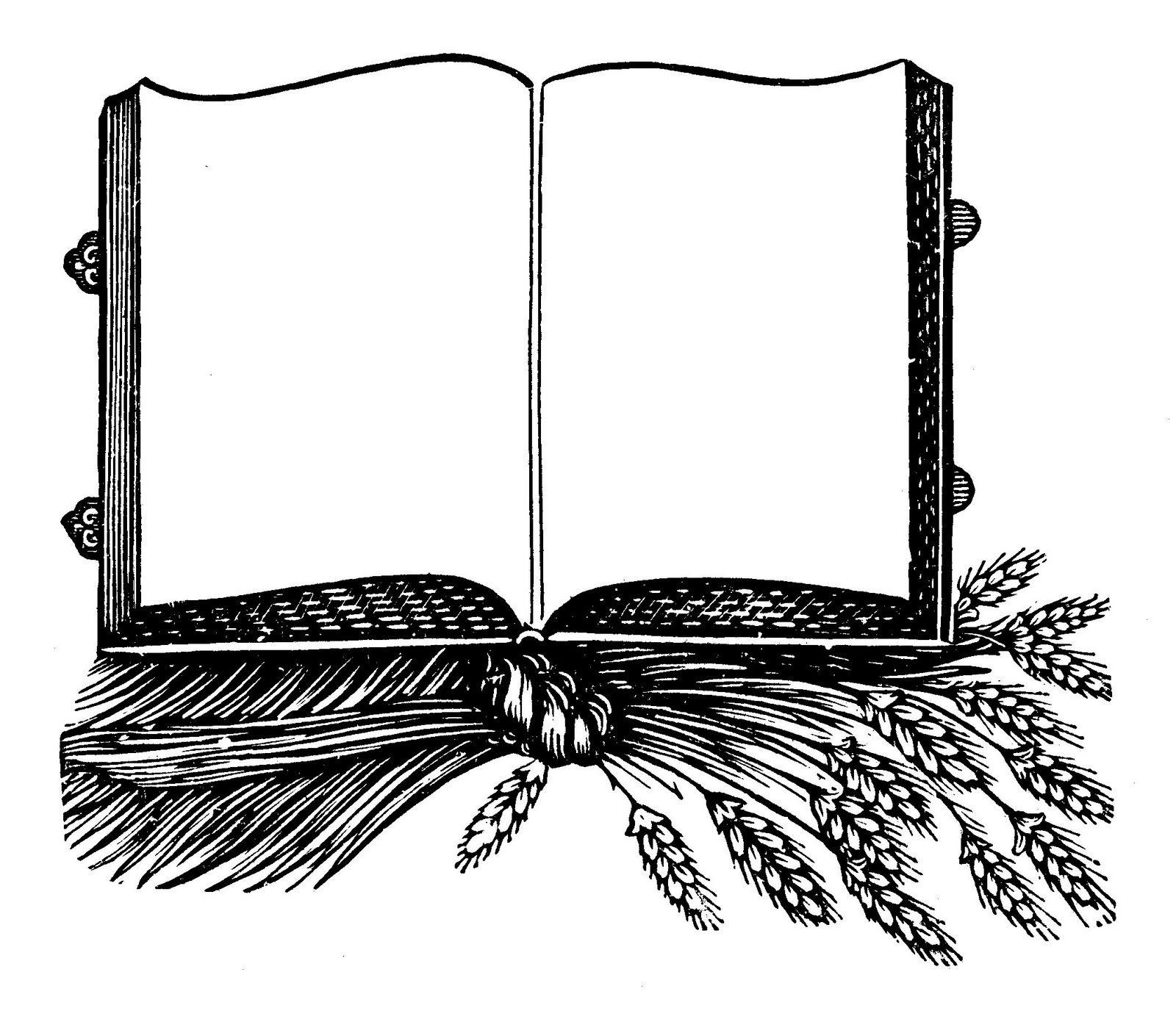 Book Frames Clipart And | Frames | Pinterest | Clip art, Vintage ...