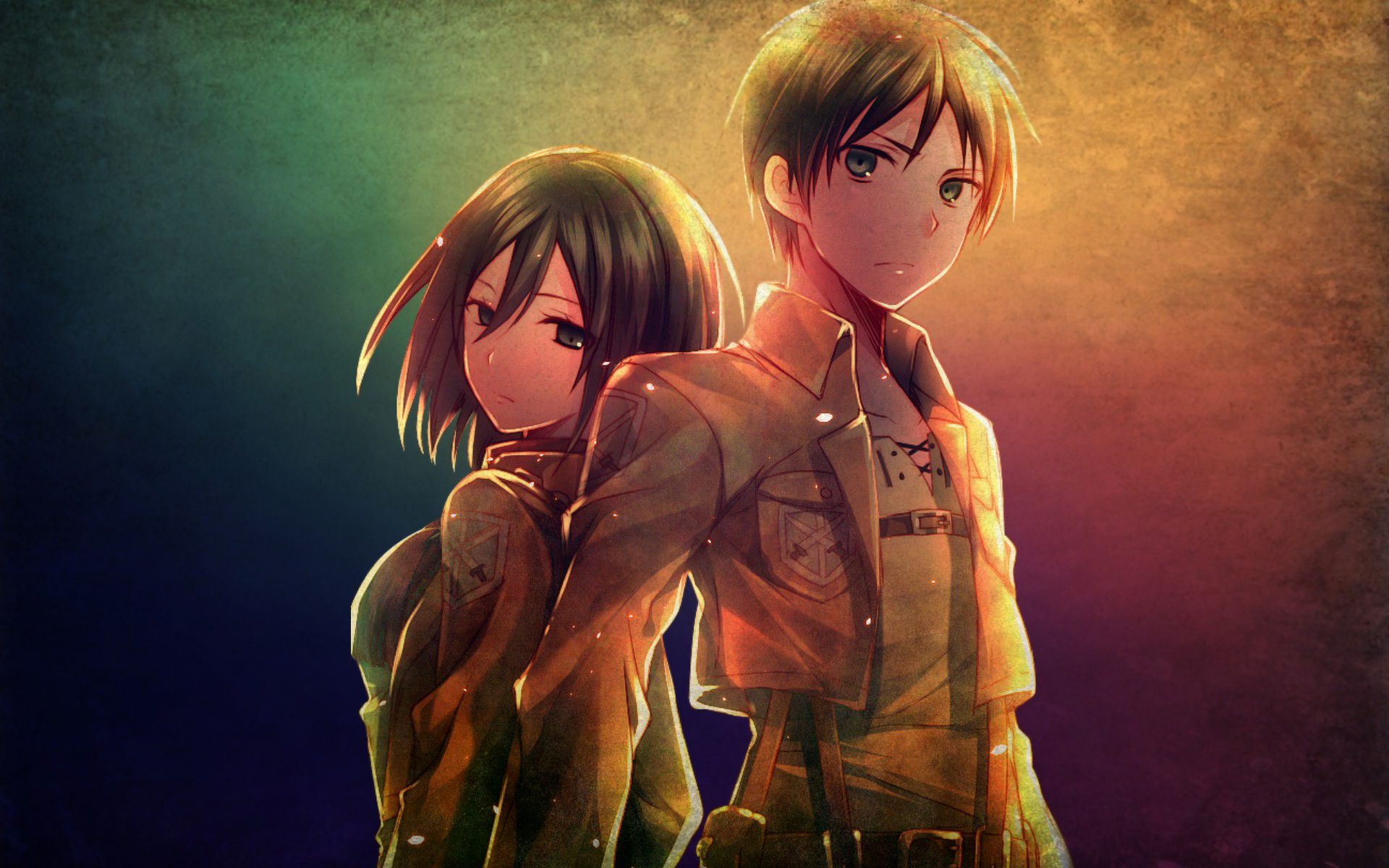 Attack On Titan Eren And Mikasa Figurine Pre Order Preview With