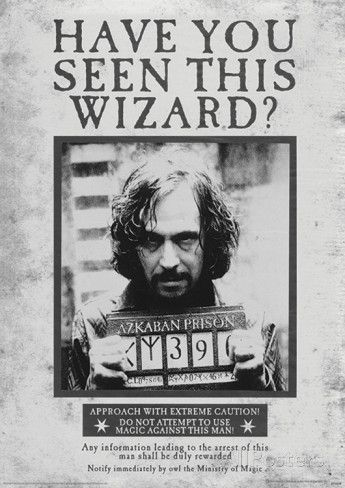 Sirius Black Allposter Com Poster Harry Potter Decoration Harry Potter Harry Potter Bricolage