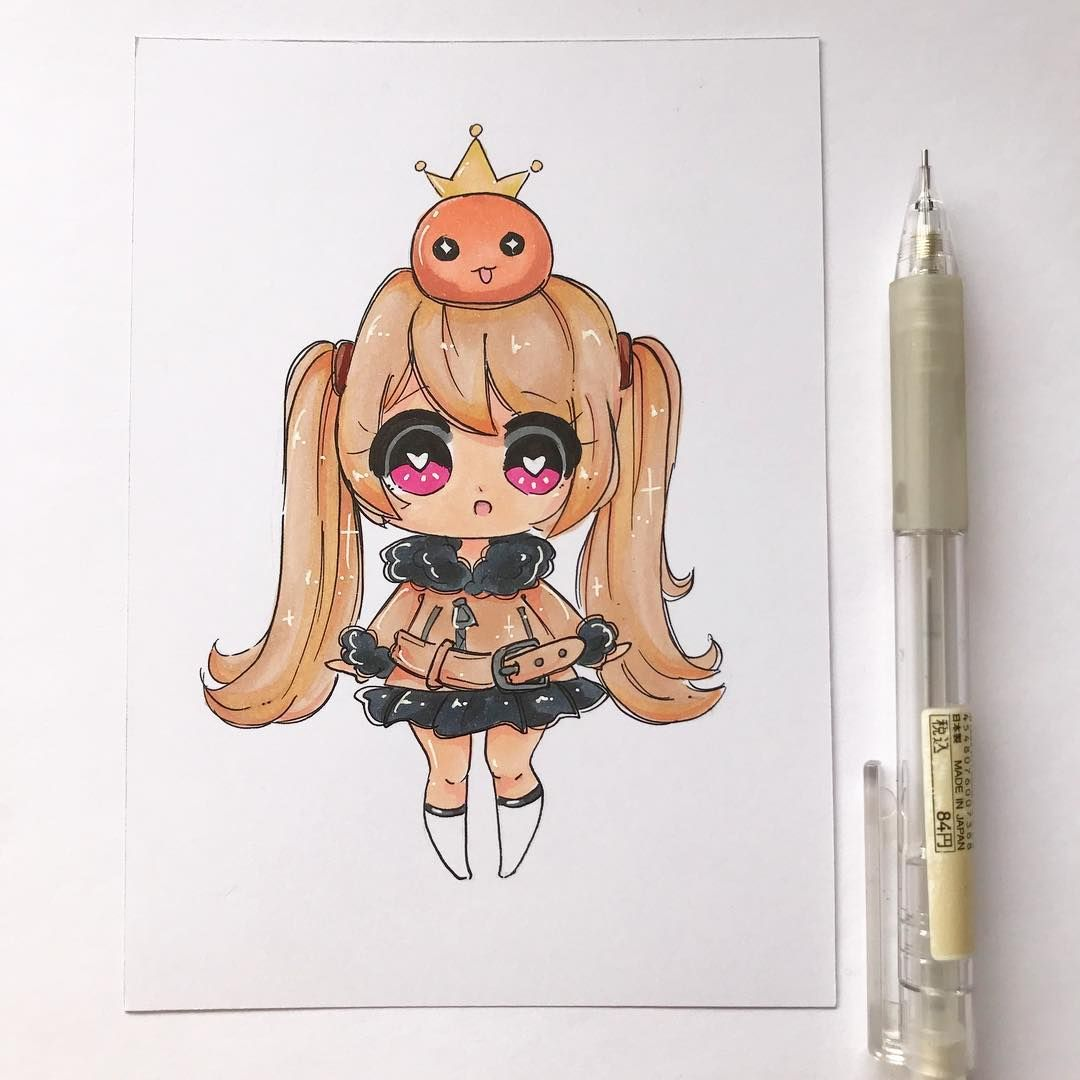 I love drawing game characters! They're so fun and cute >.< - This is my sisters Maplestory 2 character! - Comment below your favourite…