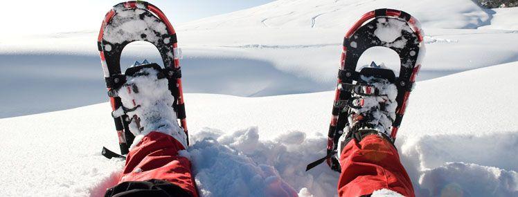 Winterurlaub in Lofer - Schneeschuwandern