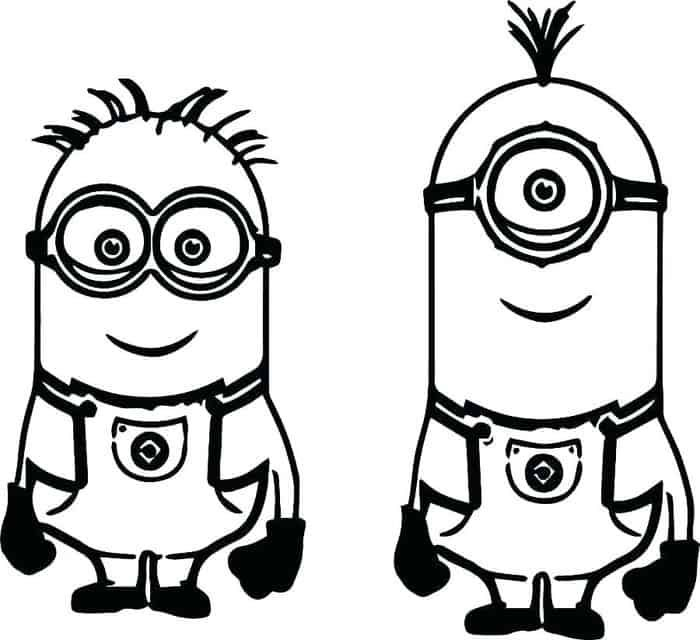 Minion Coloring Pages Pdf in 2020 | Minion coloring pages ...
