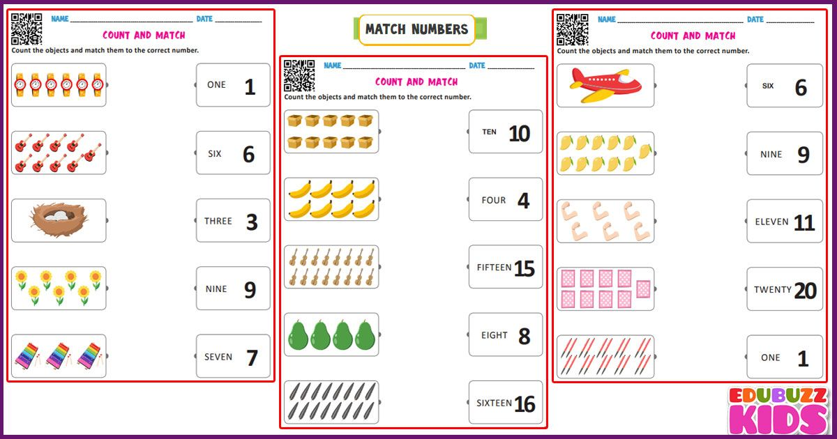 The Edubuzzkids Introduces The Common Core Standards Ccs Free Printable Worksheets For Number Worksheets Kindergarten Kindergarten Worksheets Math Worksheets